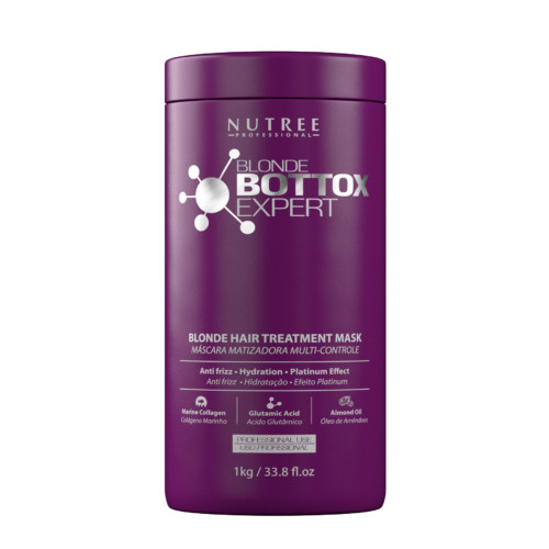 Nutree Blonde Bottox Expert - Ботокс для светлых волос, 1000 гр