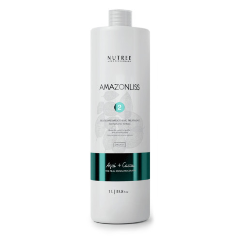 Nutree Amazonliss Кератин основной этап - Brazilian Smoothing Treatment, 1000 мл.