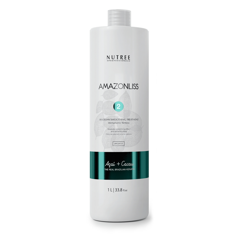 Nutree Amazonliss Кератин основной этап - Brazilian Smoothing Treatment, 1000 мл.