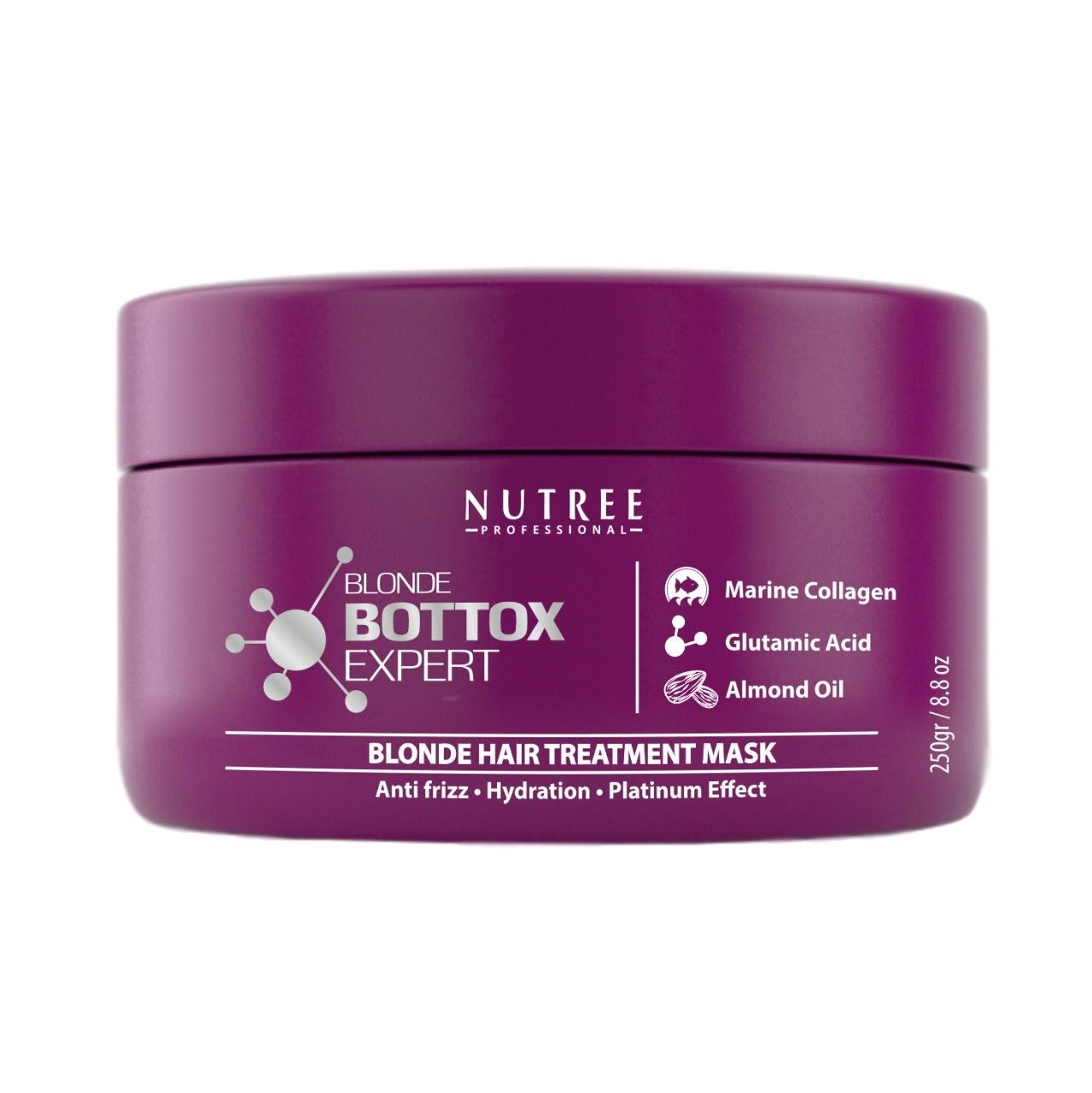 Nutree Blonde Bottox Expert - Ботокс для светлых волос, 250 гр